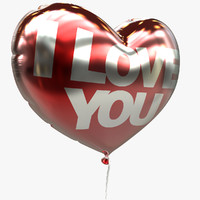 balloon heart valentine 3d 3ds