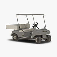 golf cart gray rigged max