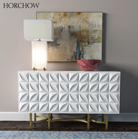 horchow barrington console block 3d model