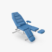 3d model armchair obstetrician m1