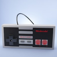 3d model nintendo gamepad