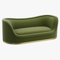 3d model brabbu dakota sofa