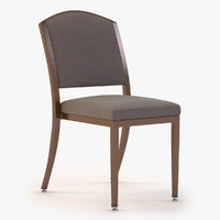 3d chair tribeca stacking model
