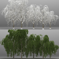 5 willow tree 3d max