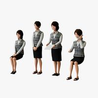 3d model figure 02