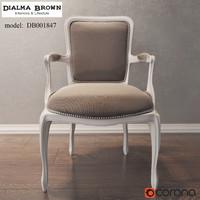 Armchair Dialma Brown