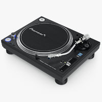 3d model turntable pioneer plx-1000