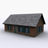 3d model dutch home