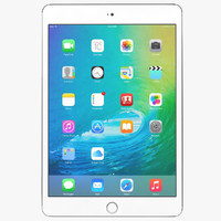 3d max apple ipad mini 4