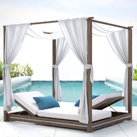 MALTA CANOPY DOUBLE CHAISE