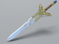 3d sword elf