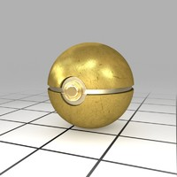 Gold Ball (Pokeball)