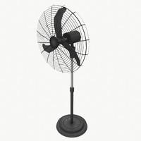 3d model fan 2
