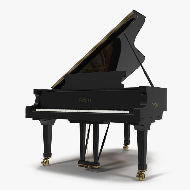 Grand Piano Fazioli 3d model 00.jpg