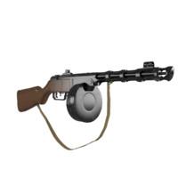 gun pistol Shpagin