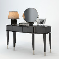angelo cappellini dressing table 3d obj