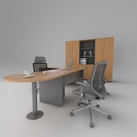 office workstation 3d max
