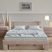 3d set furniture hasena wood-line model
