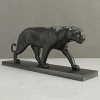 eichholtz panther marble 3d model