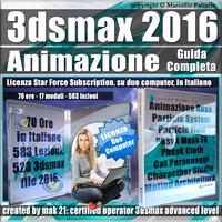 Corso 3ds max 2016 Animazione Guida Completa Subscription 2 Computer