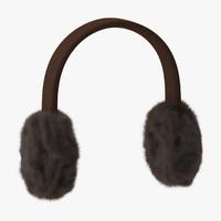 earmuffs 01 3d model
