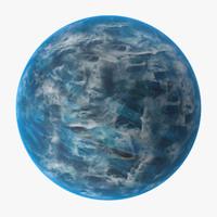 3d alien planet 02