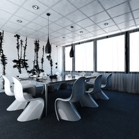 office meeting room 3d max