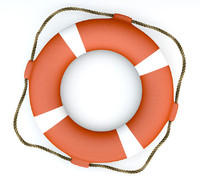 3d model lifebuoy -