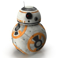 bb-8 enhance realism 3d 3ds
