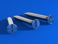 screws 3d max