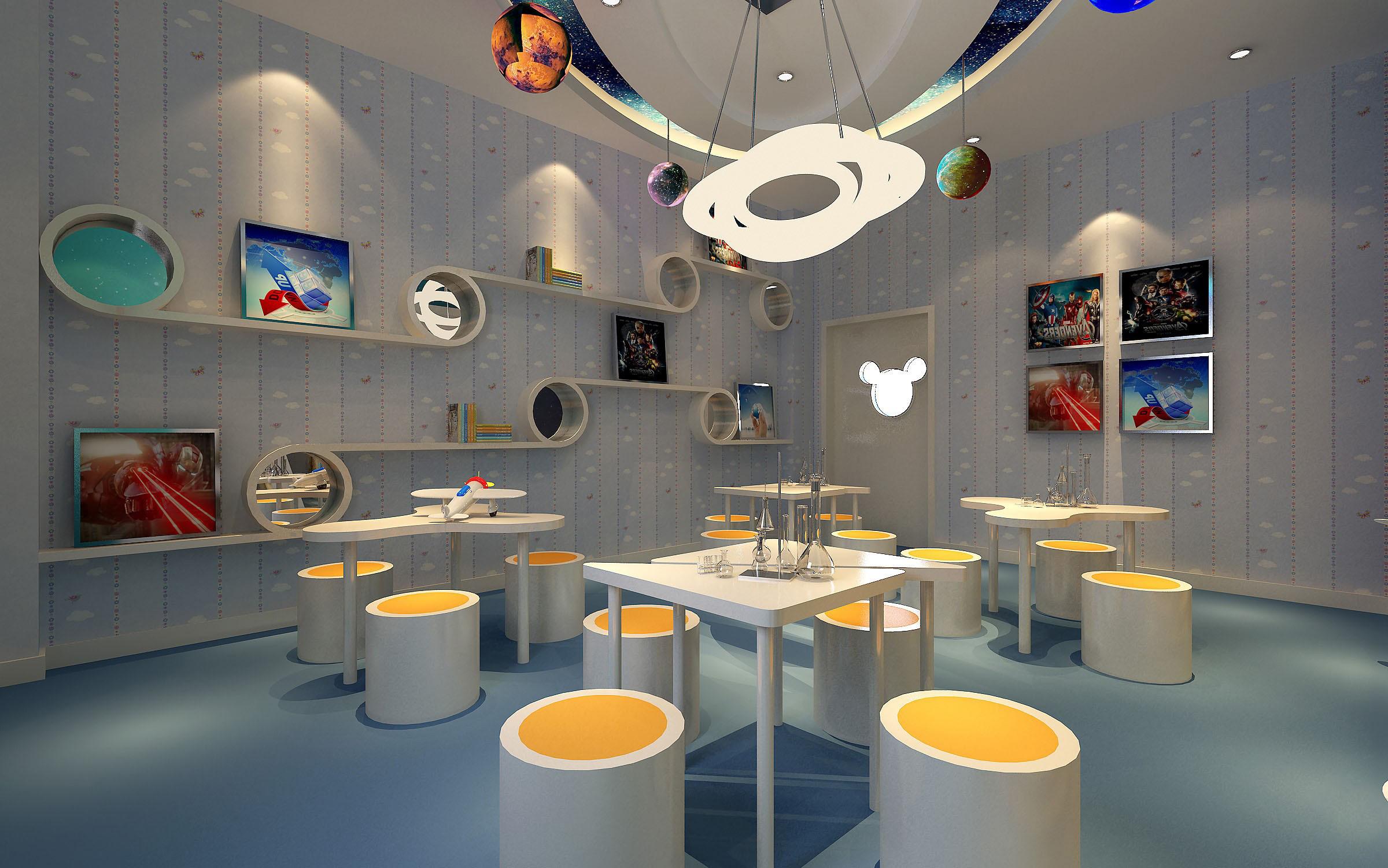 Classroom Designer 3d ~ Kindergarten interior d max
