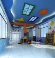 kindergarten interior 3d max