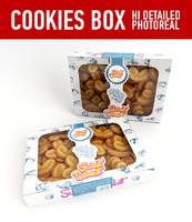3d cookies model