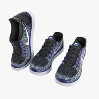 3d sneakers - model