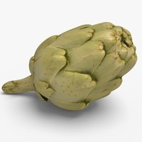 3d artichoke ready unreal