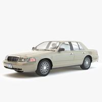 3d car realtime model