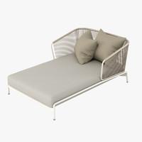 roda lounge 3d model