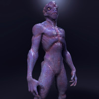 obj alien creature zbrush