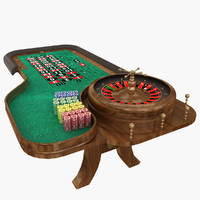 roulette table 3d 3ds