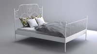 3ds realistic bed