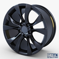 style 227 wheel black max