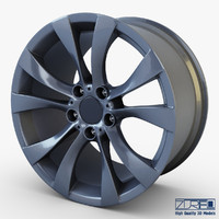 style 227 wheel ferric 3d model