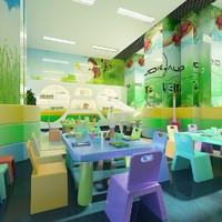 3d model kindergarten interior