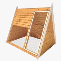 3d chicken coop