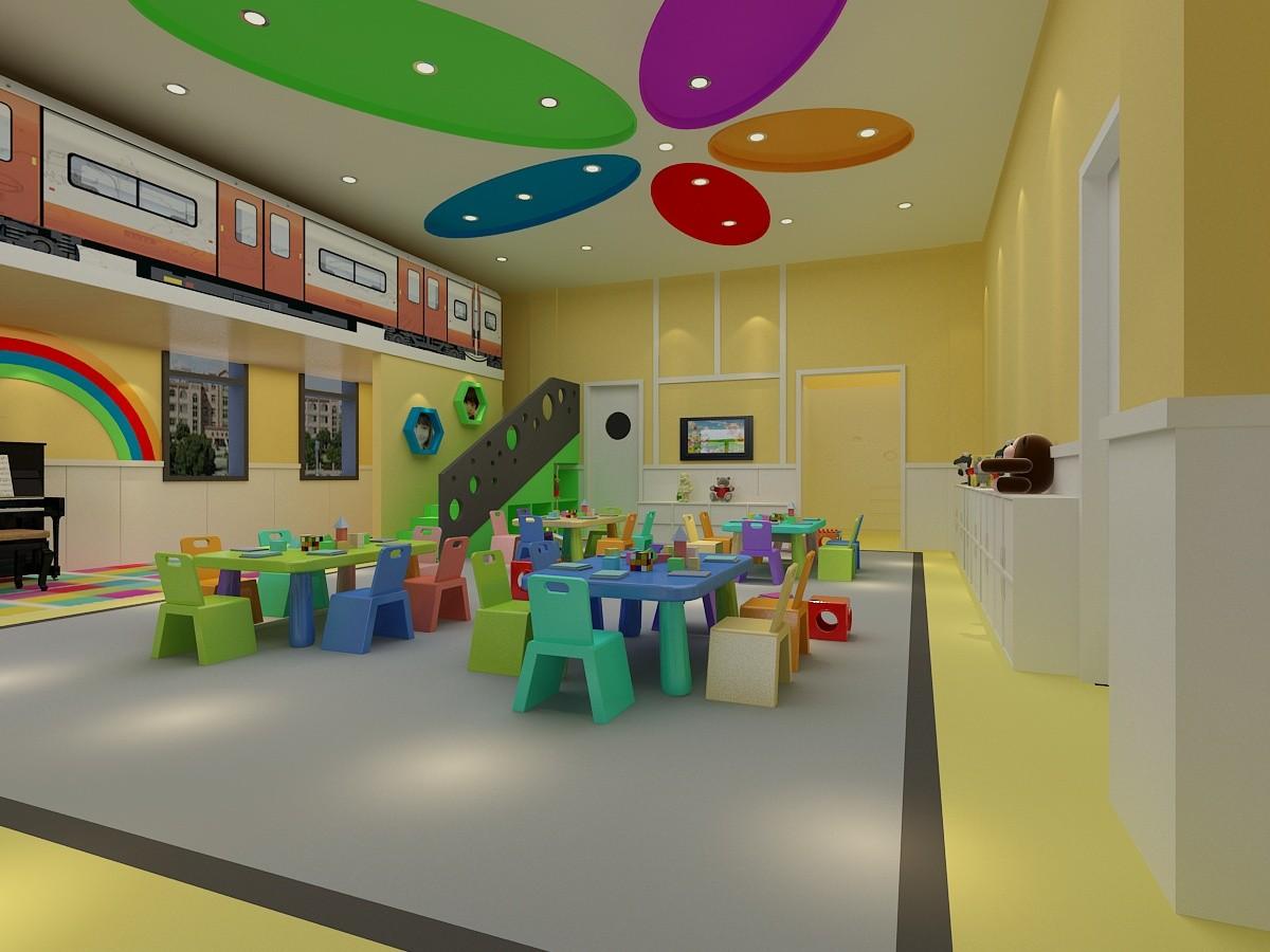 Kindergarten interior design image in 3d - Interior Design Picture Nursery Classroom Interior Design 3d Interior 3d Interior Kindergarten Classroom Photo 35