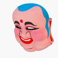 3d model buddha mask