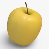 apple ready unreal 3d model
