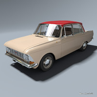 3ds azlk 412 moskvitch