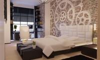 bedroom corona 3d max