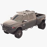 3d model dodge ram 3500